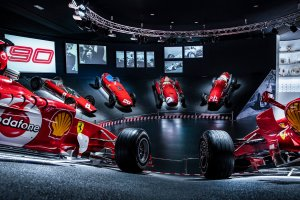 Scuderia Ferrari celebrates 90th anniversary at new museum exhibit