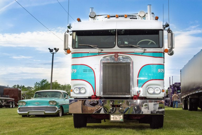'I had to buy the semi – it matched the car': Pat Sullivan's 1979 Peterbilt & 1958 Chevy Bel Air