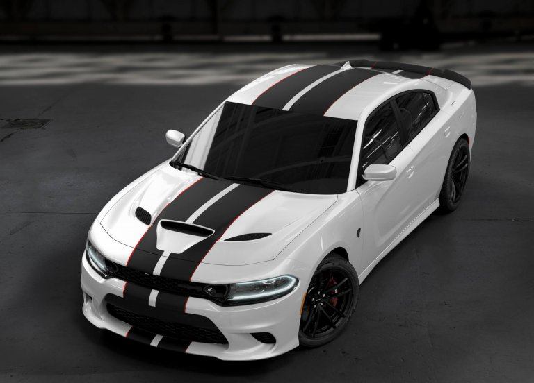 The 2019 Charger SRT Hellcat goes to the Dark Side, getting a blacked-out 'Octane Edition'