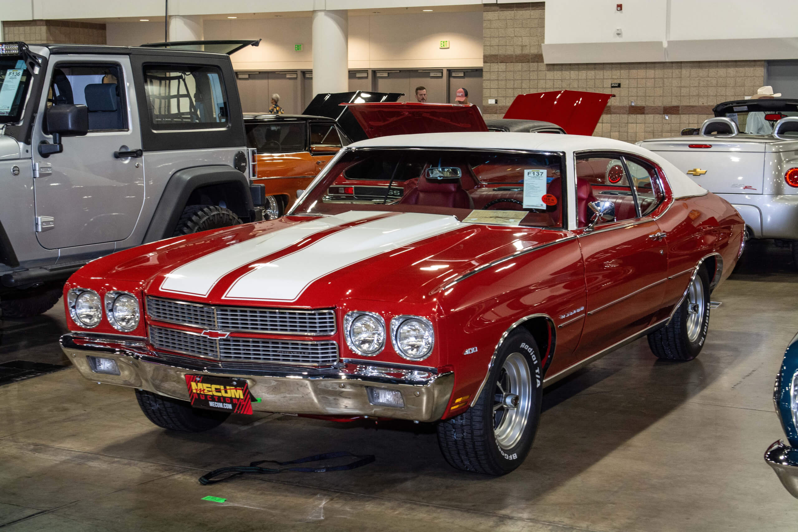 John O'Day brought his 1971 Chevy Chevelle Malibu to the 2019 Mecum Denver Auction.
