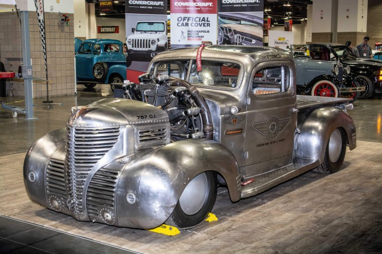 It' a Bird! It's a Plane! No, it's just Gary's Cessna-powered 1939 Plymouth Pickup Truck?!?