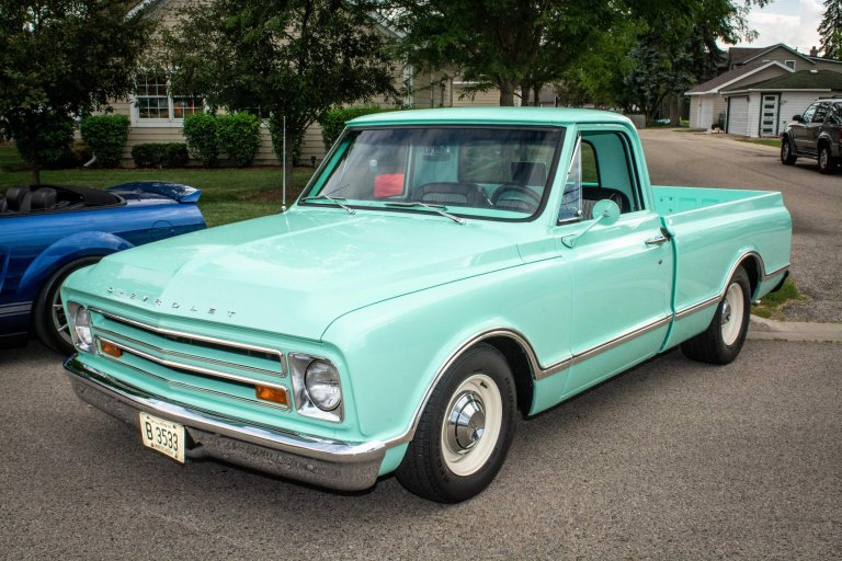 A Fresh Set of Wheels for a Seasoned Hot Rodder: Herb's 1967 Chevy C10 Pickup Truck
