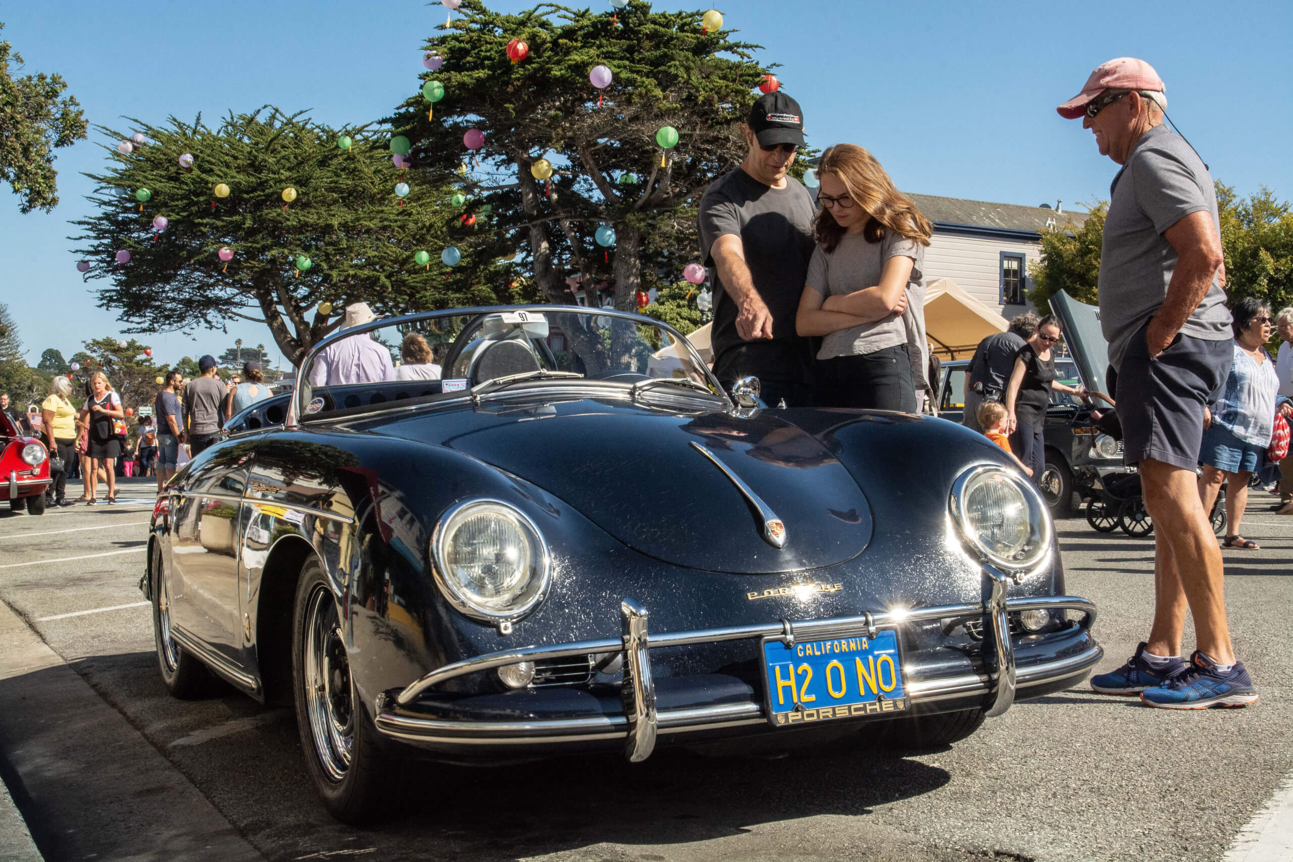 This 1958 Porsche 356A was stolen, recovered and cherished today.