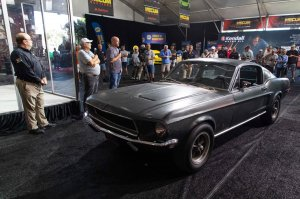Star Power: Legendary 'Bullitt' 1968 Mustang Movie Car Heading For the Mecum Auction Block