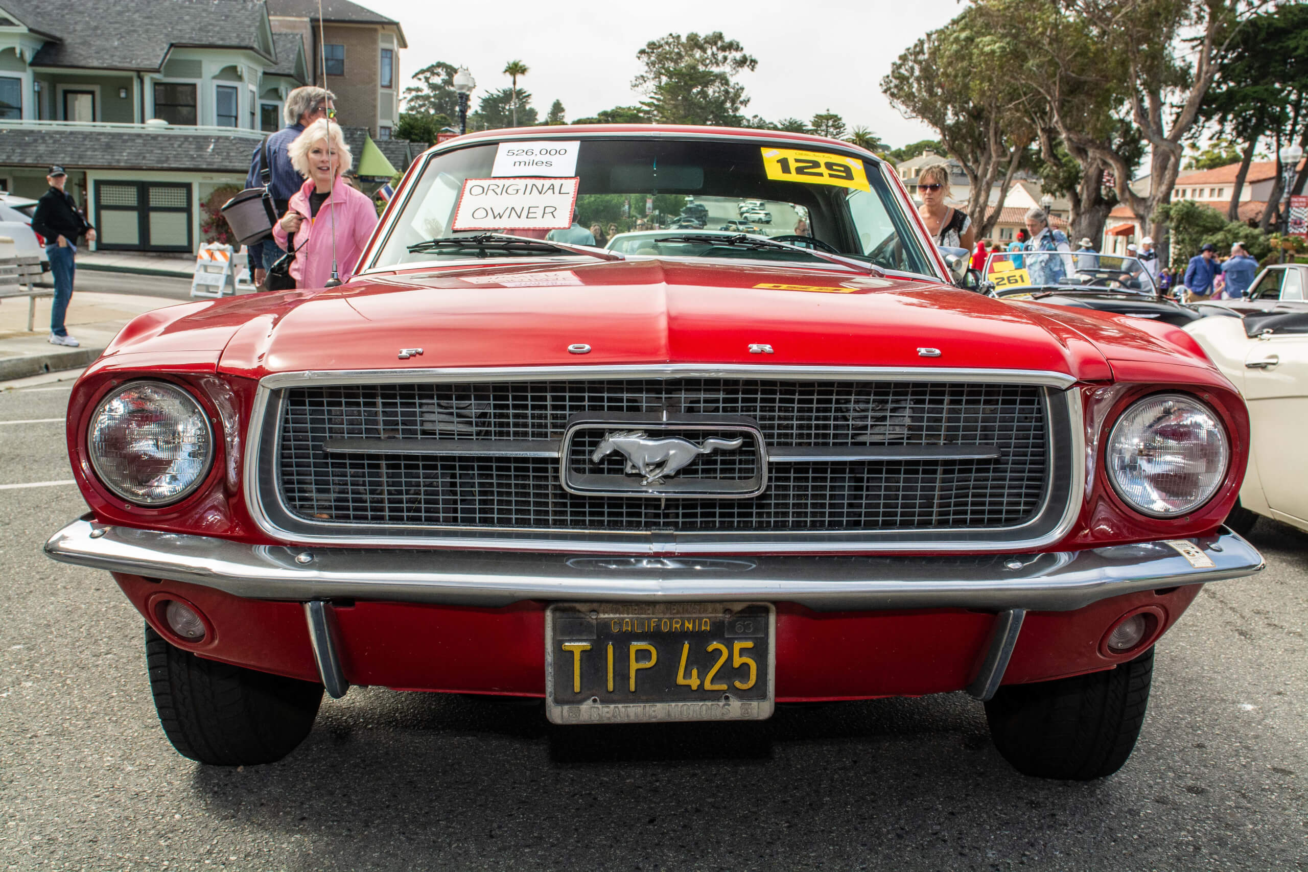 This original owner 1967 Ford Mustang was bought new by a teacher and today, shows over a half-million miles on the odometer.