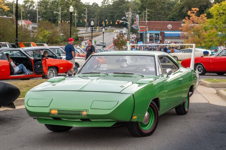 This Daytona's Original Owner Raced To See His Car's Debut at the Talladega Speedway