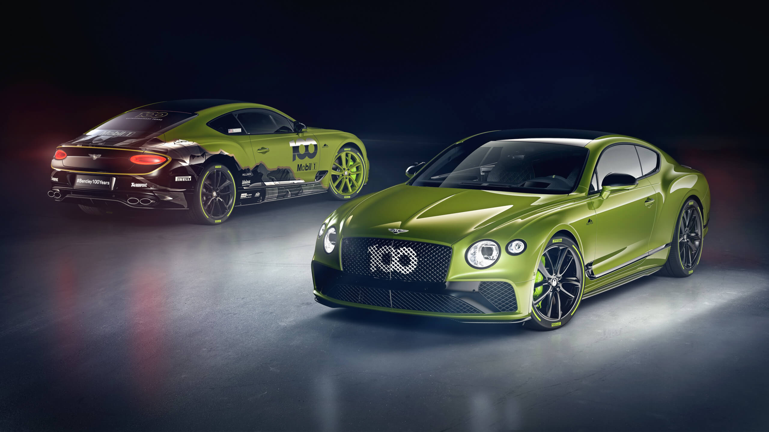 Bentley is releasing a Limited Edition Continental GT celebrating their Pikes Peak Hill Climb record.