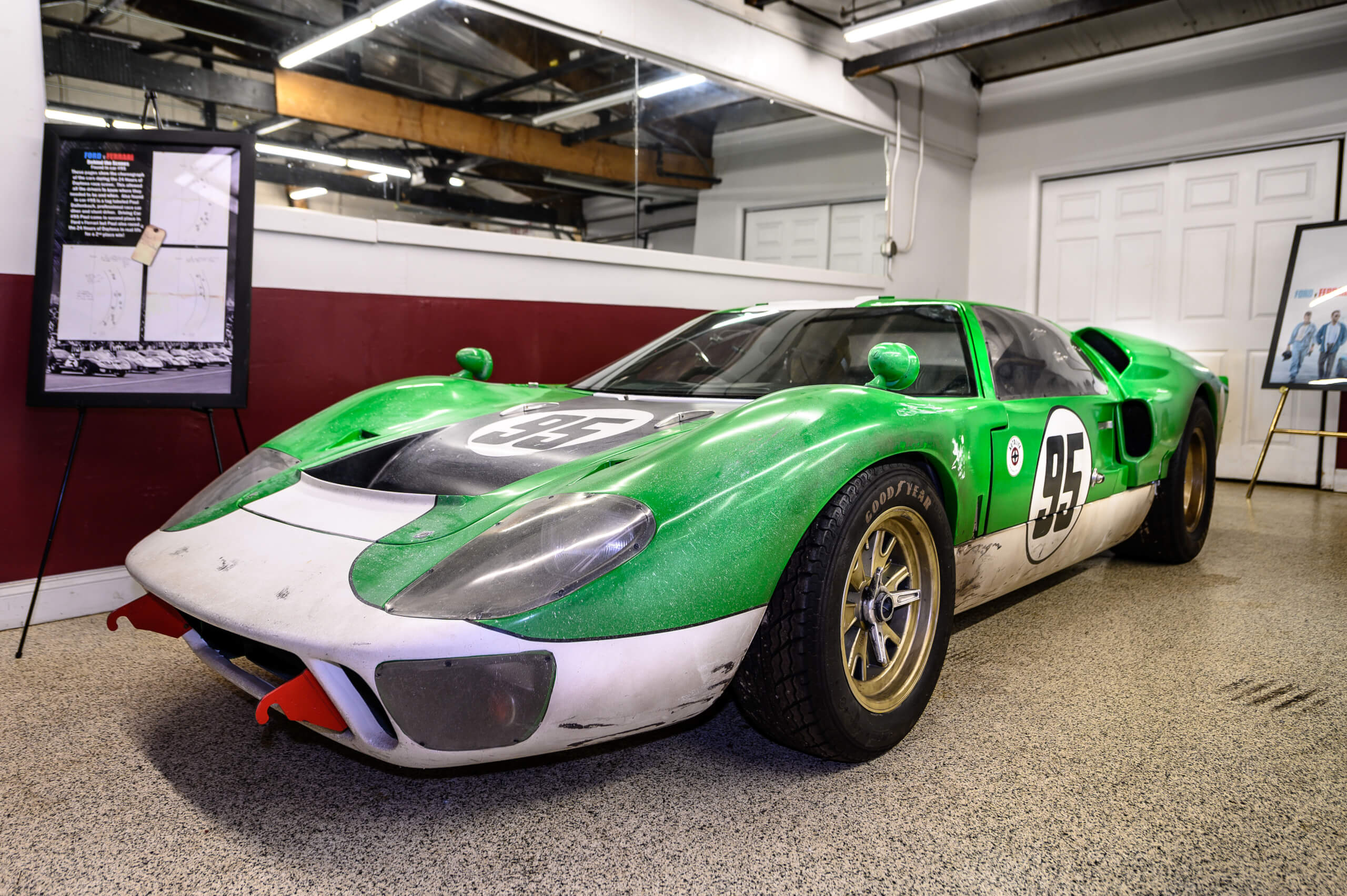 Up Close With Ford v Ferrari's 1966 GT40 #95