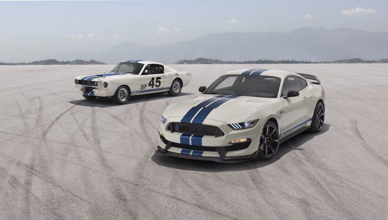 Shelby Races to Retro With 2020 GT350 Heritage Edition
