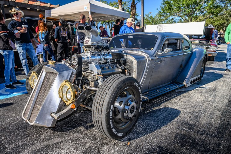 Driving The Boss Around: A '36 Packard Rat Rod