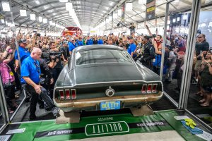 Bullitt Mustang Breaks Records Bringing Millions