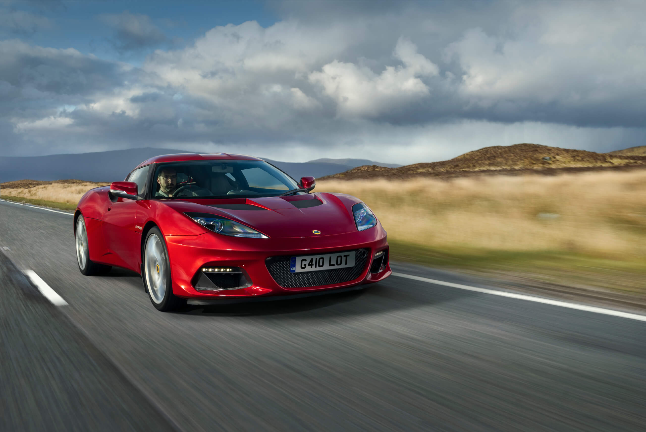 The Lotus Evora GT410 joins the brand's lineup.