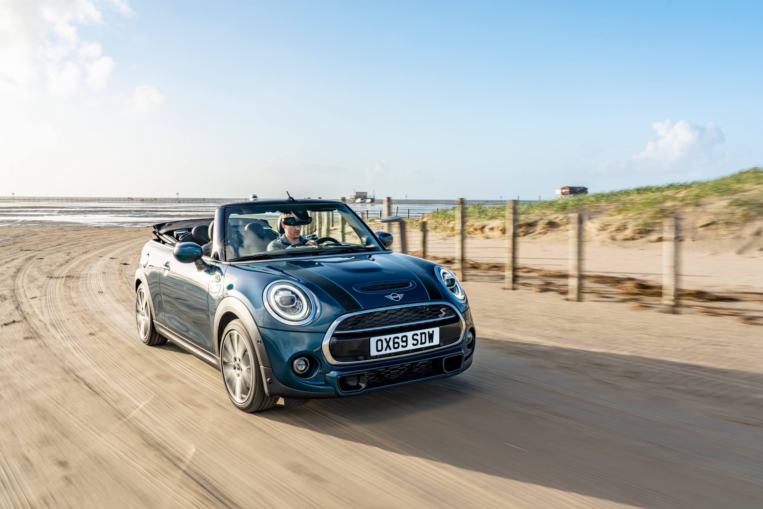 MINI's Sidewalk package adds cosmetic touches to its convertible model.