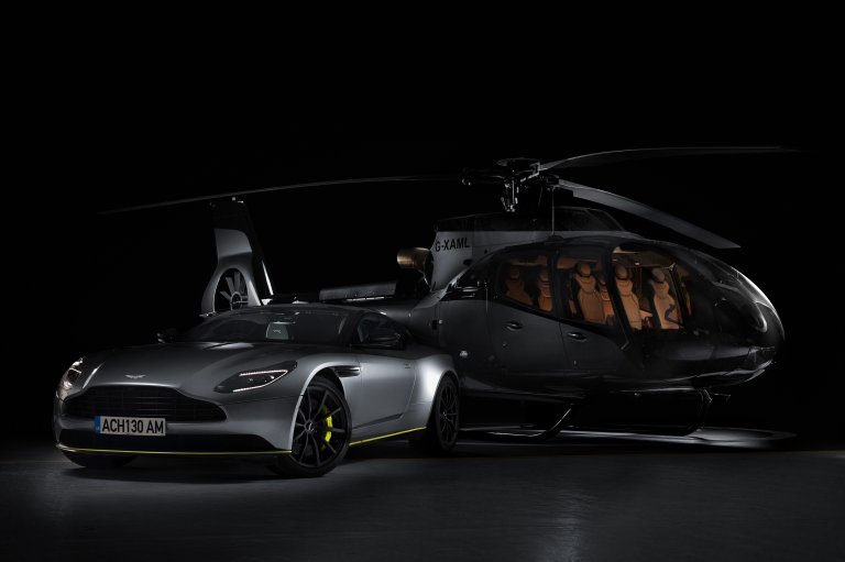 ACH's Aston Martin Edition Helicopter Takes Flight