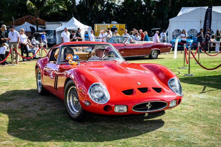 Winning Big in Boca: Ferrari 250 GTO Awarded 'Best of Show' at Concours d'Elegance