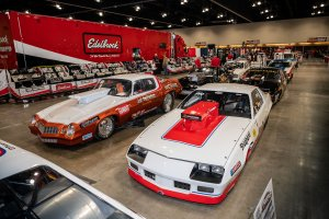 The Cars, Trucks And Crazy Postal Van at the 2020 Race & Performance Expo