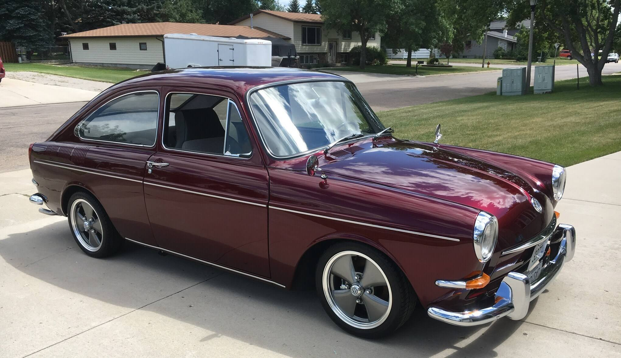 Lynn Pfenning tracked down his father's 1967 VW Type 3 which he bought new.