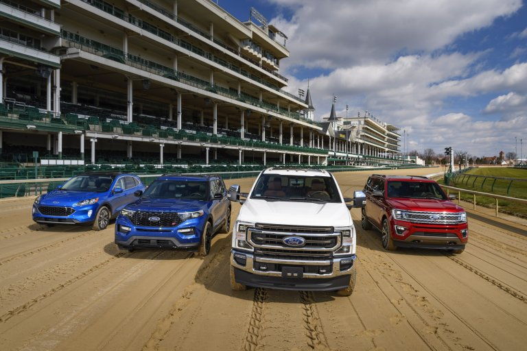 Ford Brings Rolling Horsepower To Churchill Downs And The Kentucky Derby
