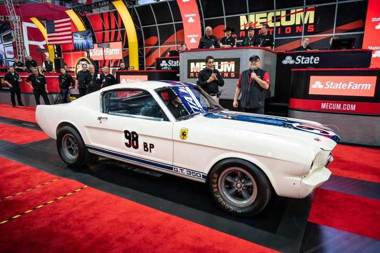 'The Flying Mustang' Shelby GT350R Is Up Grabs, Coming To Mecum's Indy Auction