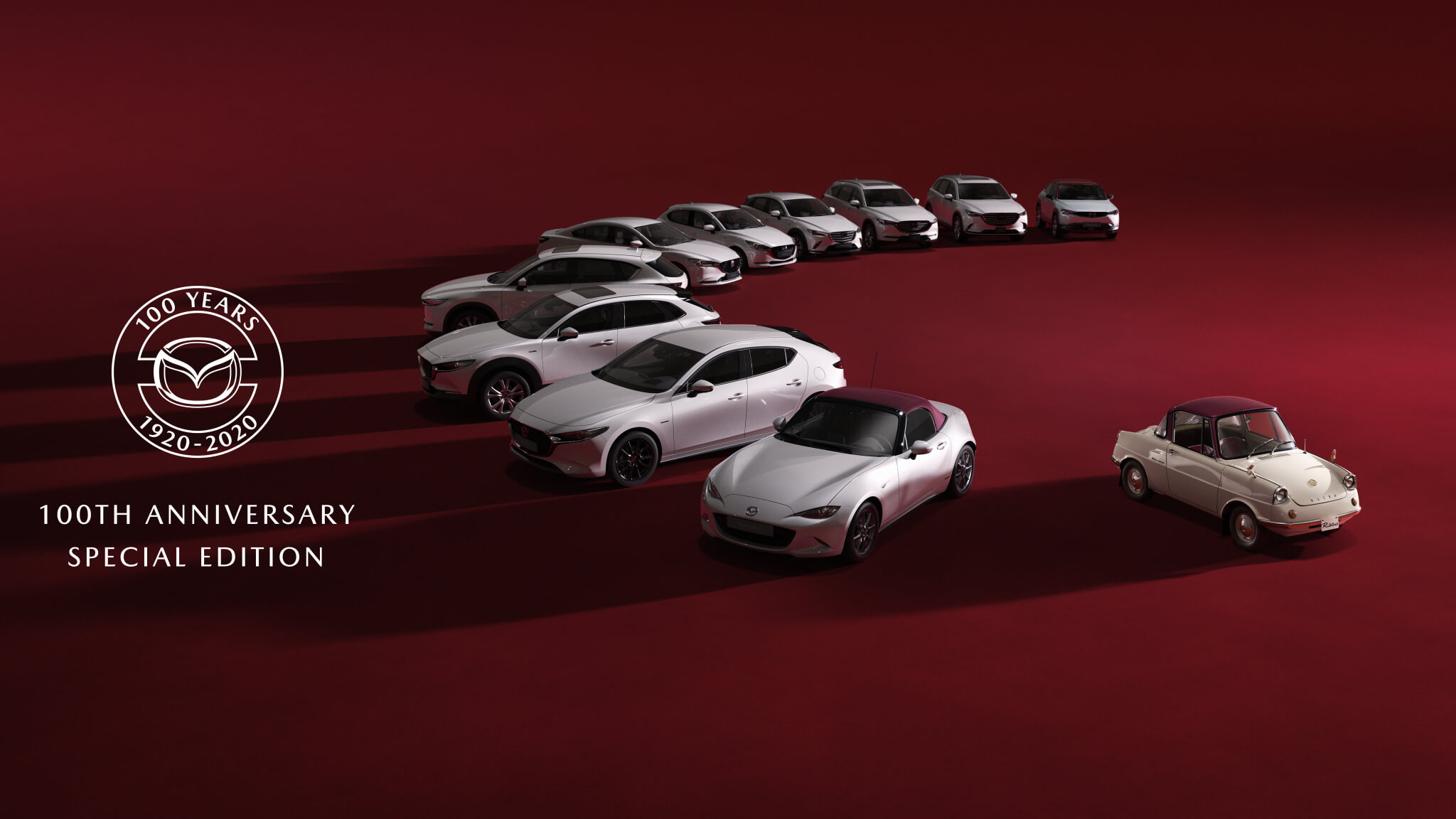 Mazda celebrates their 100th year anniversary with a run of Special Edition vehicles.