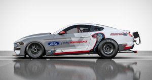 Electric Mustang Cobra Jet 1400 Charges Down The 1/4-Mile In 8 Seconds